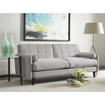 Savanna Loveseat Color: Smoke Gray