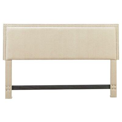 Serta Nova Headboard Color: Ivory, Size: King