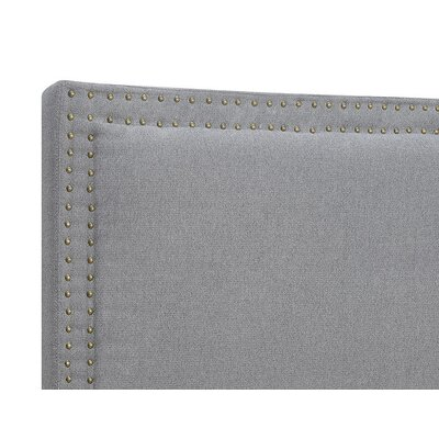 Serta Nova Headboard Color: Slate Gray, Size: Queen