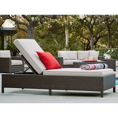 Laguna Outdoor Storage Chaise Lounge