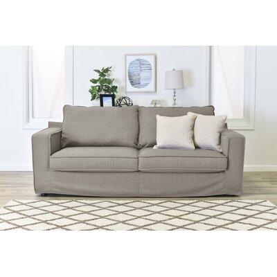 Colton Slipcover Sofa Upholstery: Beige
