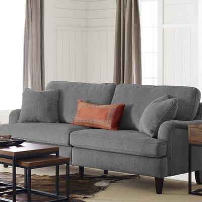 Carlisle Sofa Upholstery: Gray