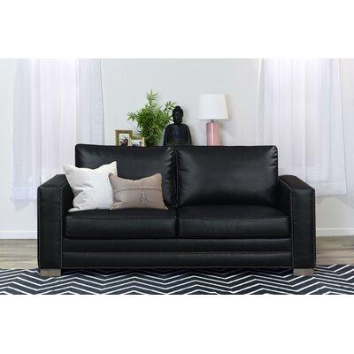 Serta Upholstery Mason Sofa Upholstery: Black
