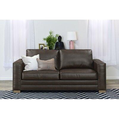 Serta Upholstery Mason Sofa Upholstery: Brown