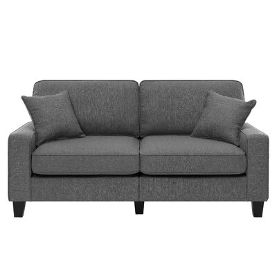 Palisades Sofa Upholstery: Graphite Gray