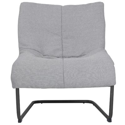 Alex Lounge Chair Upholstery: Light Gray