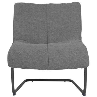 Alex Lounge Chair Upholstery: Medium Gray