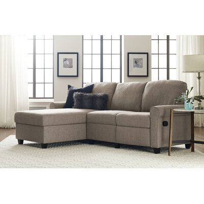 Copenhagen Sectional Color: Oatmeal, Orientation: Right Facing