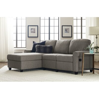 Copenhagen Sectional Color: Gray, Orientation: Left Facing