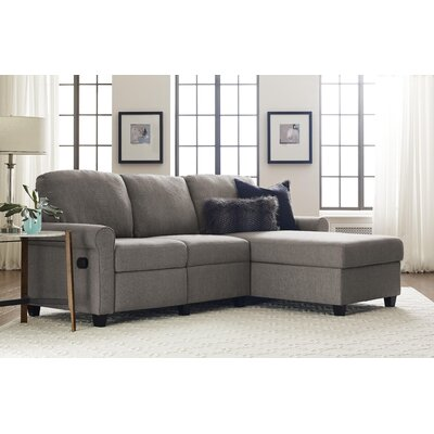 Copenhagen Sectional Color: Gray, Orientation: Right Facing