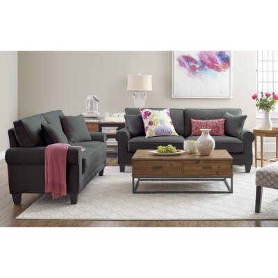 Copenhagen 2 Piece Living Room Set