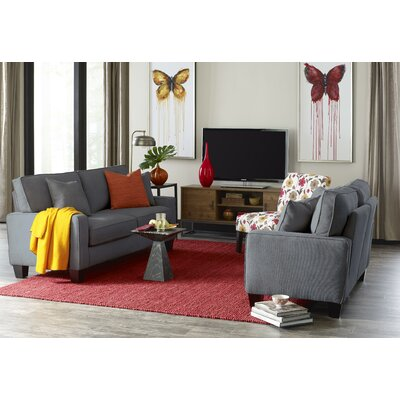 Serta� RTA Deep Seating Palisades 73 Sofa Upholstery: Gray