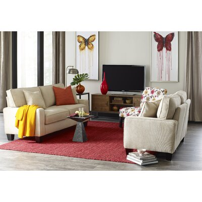Serta� RTA Deep Seating Palisades 73 Sofa Upholstery: Sand