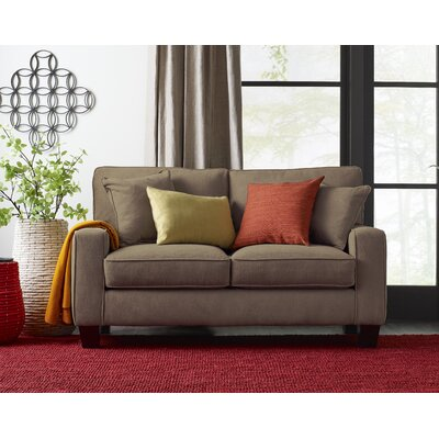 Serta� RTA Deep Seating Palisades 61 Loveseat Upholstery: Tan