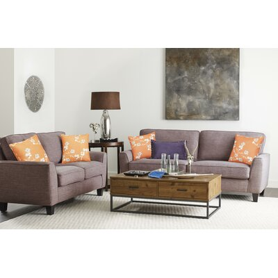 Serta� RTA Deep Seating Astoria 73 Sofa Upholstery: Tan