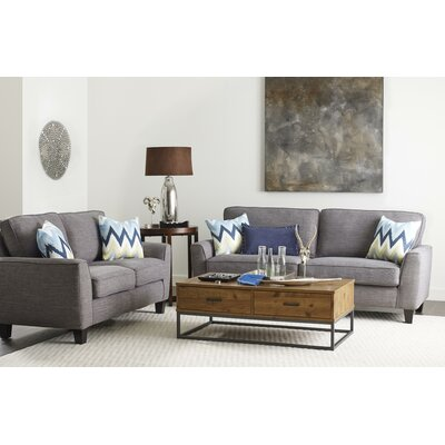 Astoria Sofa Upholstery: Light Gray