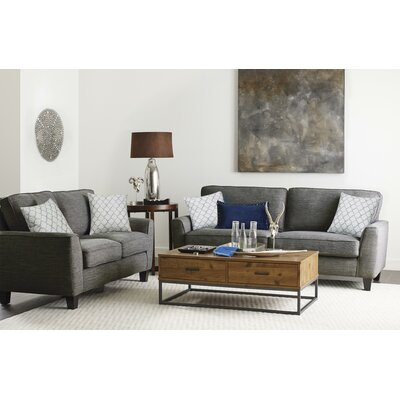 Astoria Sofa Upholstery: Dark Gray