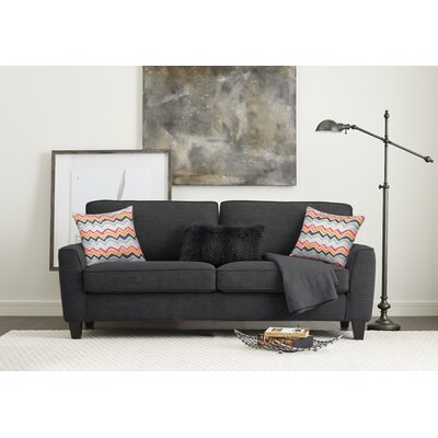 Serta� RTA Deep Seating Astoria 73 Sofa Upholstery: Charcoal