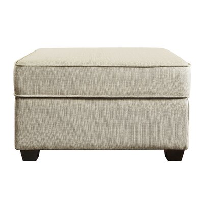 Olin Upholstered Ottoman with Storage Upholstery: Ivory Dream