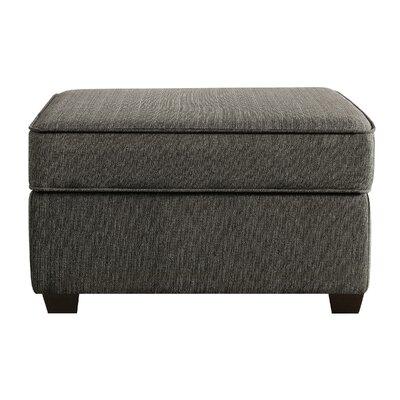 Olin Storage Ottoman Upholstery: Granite Gray