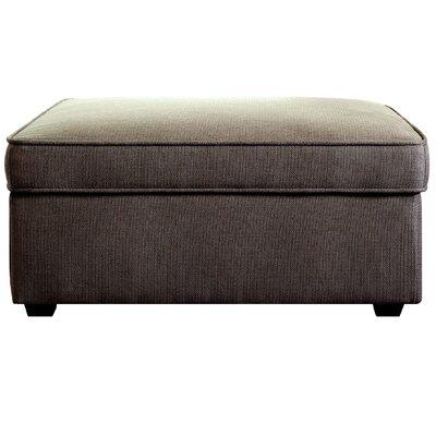 Olin Upholstered Ottoman Upholstery: Parker Ash