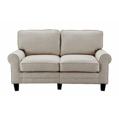 Serta� RTA Copenhagen 61 Loveseat Upholstery: Light Gray