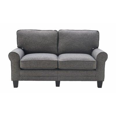 Serta� RTA Copenhagen 61 Loveseat Upholstery: Gray