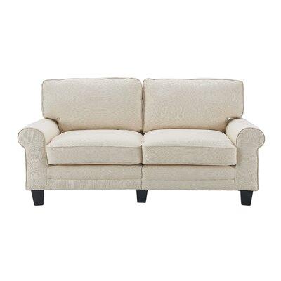 Serta� RTA Copenhagen 73 Sofa Upholstery: Buttercream