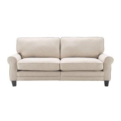 Serta� RTA Copenhagen 78 Sofa Upholstery: Buttercream