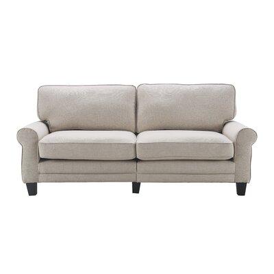 Serta� RTA Copenhagen 78 Sofa Upholstery: Light Gray