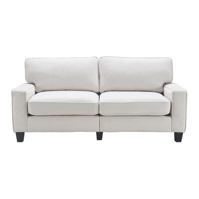 Serta� RTA Palisades 78 Sofa Upholstery: Cream