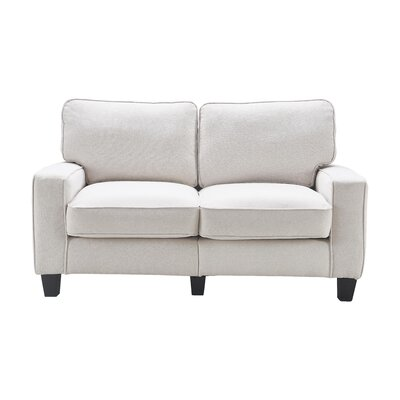 Serta� RTA Palisades 61 Loveseat Upholstery: Cream