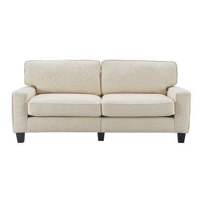Serta� RTA Palisades 78 Sofa Upholstery: Buttercream