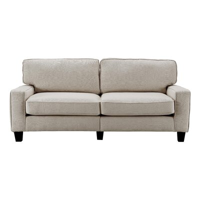 Serta� RTA Palisades 78 Sofa Upholstery: Light Gray