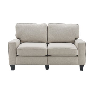 Serta� RTA Palisades 61 Loveseat Upholstery: Light Gray