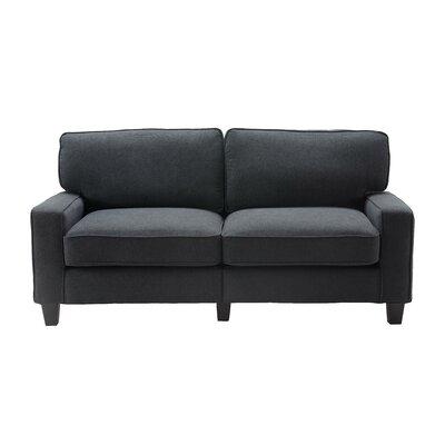 Serta� RTA Palisades Sofa Upholstery: Charcoal