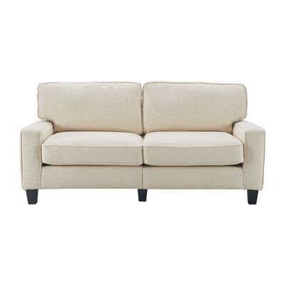 Serta� RTA Palisades Sofa Upholstery: Buttercream