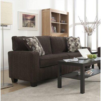 Serta� RTA Palisades 78 Sofa Upholstery: Riverfront Brown