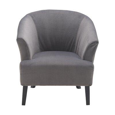 Artesia Barrel Chair Upholstery: Gunmetal Gray