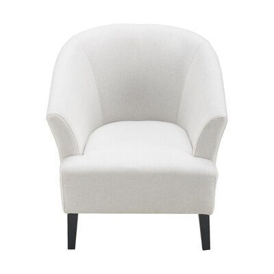Artesia Barrel Chair Upholstery: Catalina Ivory