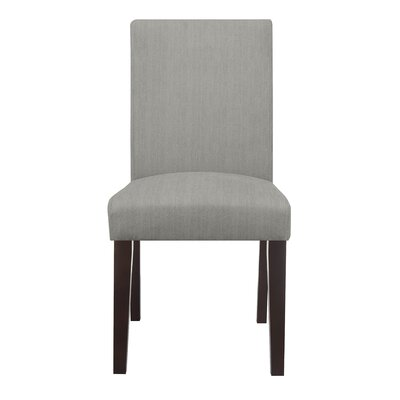 Liam Upholstered Dining Chair Color: Light Gray