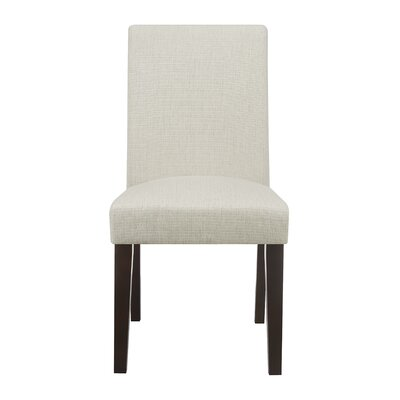 Liam Upholstered Dining Chair Color: Natural