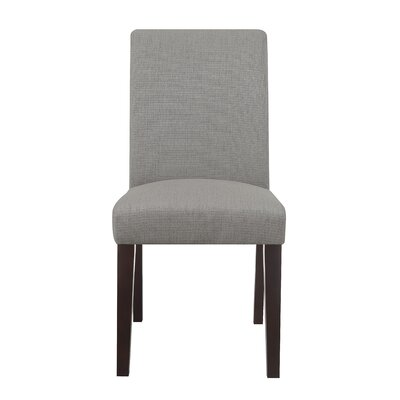 Liam Upholstered Dining Chair Color: Ash Gray