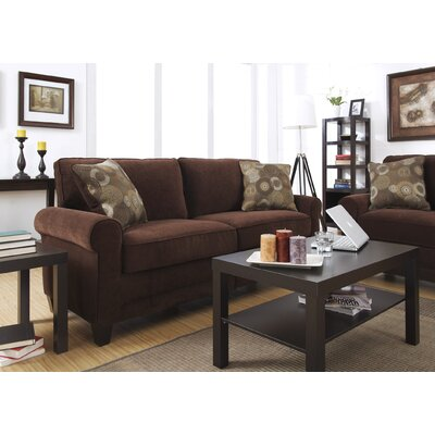 Serta� RTA Copenhagen 78 Sofa Upholstery: Rye Brown