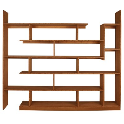 Stagger Major Accent Shelves Bookcase 2327 Product Photo