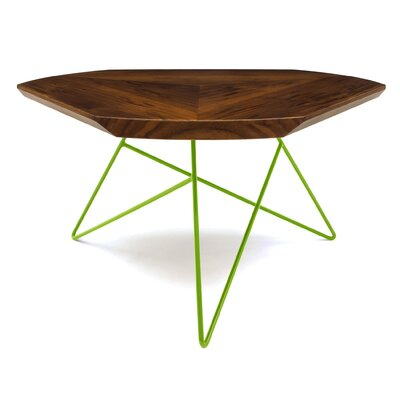 Acute Coffee Table Leg Color: Apple - Green