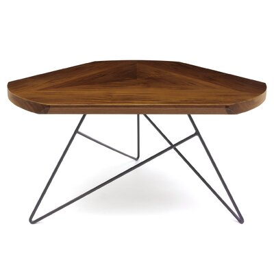 Acute Coffee Table Leg Color: Dark Plum