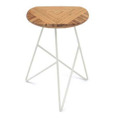 Acute 19 Bar Stool Color: Amber, Leg Color: Cream