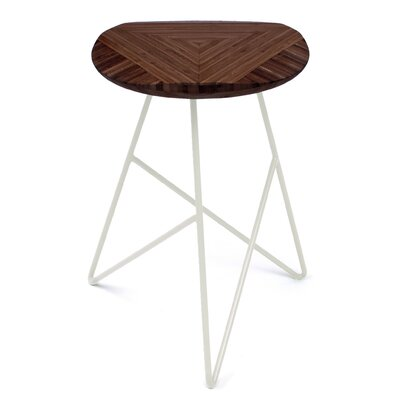 Acute 19 Bar Stool Finish: Chocolate, Leg Color: Cream