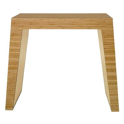 Hollow Console Table Finish: Natural